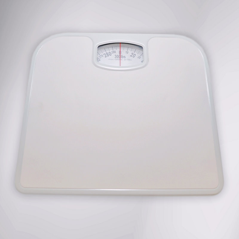 Bathroom Scale, Dial, to 300 lbs